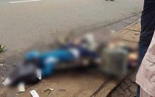 Người thân khóc ngất bên cạnh thi thể nam sinh lớp 9 bị xe tải cán thương tâm