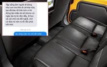 """""""Cái kiếp lái xe phải nhẫn nhịn, học cách hầu hạ người ta đi"""" - SMS gây sốc của nữ hành khách khi bị tài xế taxi phàn nàn vì vứt vỏ hộp trà sữa trên xe"""