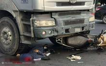 Nam Định: Người phụ nữ đi xe Lead thiệt mạng vì bị cuốn vào gầm xe đầu kéo