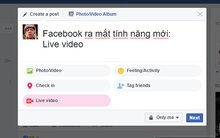 Facebook vừa có thay đổi lớn: live stream từ máy tính, giao diện Messenger mới cực đẹp