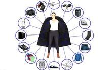 """Áo khoác """"túi thần Doraemon"""" đựng được 15kg hành lý khi đi máy bay"""