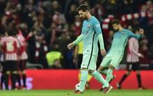 Messi ghi bàn, Barca vẫn thua sốc ngay trong trận đầu năm