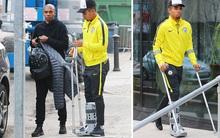 Man City nhận cú sốc: Gabriel Jesus gãy xương bàn chân