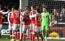 Vượt qua đội bóng nghiệp dư, Arsenal thẳng tiến vào tứ kết FA Cup