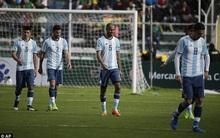 Messi bị treo giò 4 trận, Argentina thua trắng ở vòng loại World Cup 2018