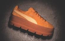 """Rò rỉ hình ảnh mới của mẫu sneaker Puma do Rihanna thiết kế: Đế độn cao vút đúng """"trend"""", hội nấm lùn đảm bảo mê tít"""