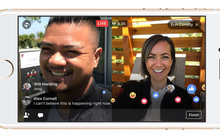 """Dù cách nhau nửa vòng trái đất, bạn vẫn có thể """"Live"""" chung với bạn bè nhờ tính năng mới của Facebook"""