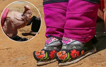 """Mục sở thị những """"đôi chân gót sen"""" cuối cùng của phụ nữ Trung Quốc thời hiện đại"""