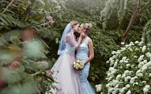 Bộ ảnh cưới nên thơ của hai cô nàng xinh đẹp khiến dân tình thầm ghen tị