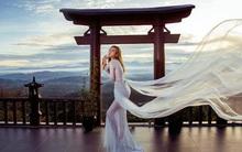 Hình ảnh phản cảm của cô gái ăn mặc hở hang, chụp ảnh uốn éo tại ngôi chùa quay MV ''Lạc Trôi''