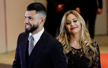 """Hai ngày sau tai nạn gãy xương sườn, Aguero bị bạn gái ca sĩ """"đá"""" không thương tiếc"""