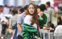 Diện đồ thể thao khoẻ khoắn, Minh Hằng nổi bật giữa sân bay lên đường đi Dubai tham dự tuần lễ thời trang quốc tế