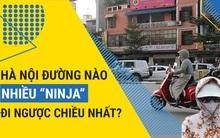 Clip ác mộng giờ cao điểm: Khi đội quân ninja xông pha đi ngược chiều