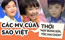 """Quên hình ảnh soái ca hay mỹ nhân bốc lửa đi, bạn có nhận ra Soobin, Tóc Tiên, Quang Vinh... từ thời """"mặt búng sữa, tóc hai chùm"""" này không?"""