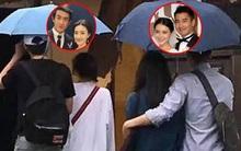 Lâm Canh Tân bị bắt gặp đi du lịch với Vương Lệ Khôn, nhưng netizen chỉ chú ý tới cánh tay Triệu Hựu Đình ôm vợ quá tình tứ