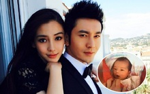Hình ảnh quý tử nhà Angela Baby - Huỳnh Hiểu Minh bất ngờ được tiết lộ