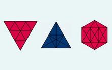Chỉ 10% trong 7 tỷ người mới đủ khả năng đếm được có bao nhiêu tam giác trong mê cung hình học