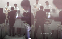 HOT: Ơn giời, nữ hoàng sắc đẹp Kim Tae Hee đã xuất hiện với váy ngắn trong đám cưới cực bí mật