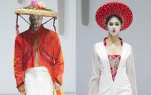 Thiết kế y chang nón quai thao và mấn của Việt Nam xuất hiện trên sàn diễn New York Fashion Week!
