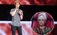 """Clip: Học trò cố nghệ sĩ Trần Lập khiến khán giả """"The Voice"""" rơi nước mắt"""