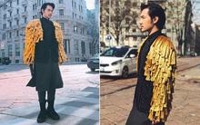 """Lý Quí Khánh mang phong cách """"một mình một kiểu"""" đến show Dolce&Gabbana tại Milan"""