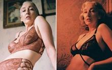 Xem chùm ảnh quảng cáo nội y của người mẫu U60 này, hẳn nàng nào cũng ước về già mình được sexy như vậy