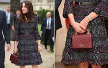 """Có diện đồ xa xỉ nhưng đây là lần đầu tiên Công nương Kate mặc """"cả cây"""" Chanel hơn 300 triệu đồng"""