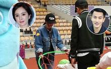 Vợ chồng Dương Mịch - Lưu Khải Uy lần đầu tiên cùng đến trường con gái sau scandal ngoại tình