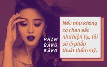 Nghi vấn phẫu thuật thẩm mỹ và những lời đáp trả xuất sắc của người đẹp Hoa ngữ