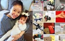 Lâm Tâm Như gây tranh cãi khi khoe quà tặng con gái là hàng hiệu trị giá gần 1 tỷ đồng