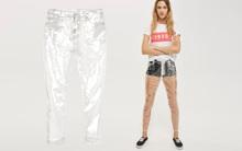 Thảm họa quần jeans trong suốt nhìn xuyên thấu giống hệt áo mưa