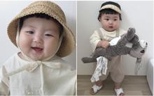 Cô nhóc người Hàn sở hữu cặp má bánh bao trong truyền thuyết siêu đáng yêu