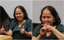 Loạt hành động vô cảm đến rùng mình của người phụ nữ tại tòa án sau khi đâm chết chồng và 4 con thơ
