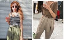 """Quần thắt nơ: """"hot trend"""" xinh xắn khiến ngay cả các cô nàng không thích quần vải mềm cũng đổ đứ đừ"""