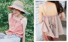 Áo 2 dây hè này có tới 5 kiểu, kiểu nào cũng mát và xinh hết cỡ bạn đã cập nhật hết chưa?
