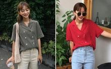 """Nếu đã chán sơmi truyền thống, bạn nhất định nên thử kiểu áo sơmi 2 hàng khuy sắp thành """"hot trend"""" này"""