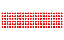 Chỉ 2% người trên thế giới có khả năng nhìn thấy 7 dấu chấm khác màu trong 20 giây
