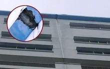Xác định vị trí mảng bê tông rơi trúng đầu khiến nam sinh viên trường HUTECH tử vong