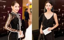 Chi Pu và Phí Phương Anh cùng đọ sắc với tông đen ở sự kiện thời trang, ai mặc đẹp hơn?