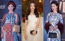 Thảm đỏ VIFW ngày 2: Giữa một dàn hot girl áo dài Quỳnh Anh Shyn, Salim... bỗng xuất hiện Linh Ka mặc váy trắng công chúa