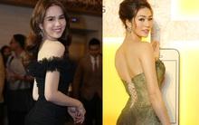 Ngọc Trinh đọ dáng với Khánh My cùng dàn mỹ nhân Việt trong sự kiện