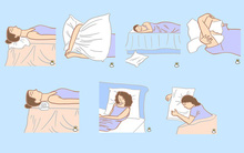Cách đặt gối khi ngủ nói gì về con người bạn?