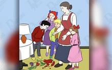 Dự đoán đứa trẻ làm vỡ bình hoa để xem bạn thuộc tuýp người nào