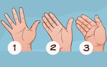Xem khoảng cách giữa các ngón tay để biết bạn là người như thế nào