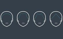 Đường viền chân tóc của bạn có hình dáng thế nào, điều đó tiết lộ bạn là người mạnh, yếu ra sao