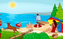 Trên bãi biển, bạn nhìn vào thứ gì đầu tiên, điều đó sẽ tiết lộ tính cách nổi trội ở bạn