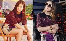 """Chẳng cần ăn vận """"chặt chém"""", Triệu Vy vẫn gây choáng với BST đồ hiệu hàng """"khủng"""" trong show thực tế mới"""