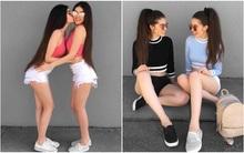 Cặp chị em sinh đôi người đẹp dáng xinh, thu hút sự chú ý của cộng đồng mạng Việt Nam