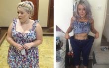 Sự thay đổi ngoại hình đáng kinh ngạc của cô nàng giảm một phát 40kg