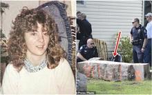 Người phụ nữ mất tích bí ẩn, 28 năm sau cảnh sát phát hiện cột bê tông 3 tấn đầy khả nghi